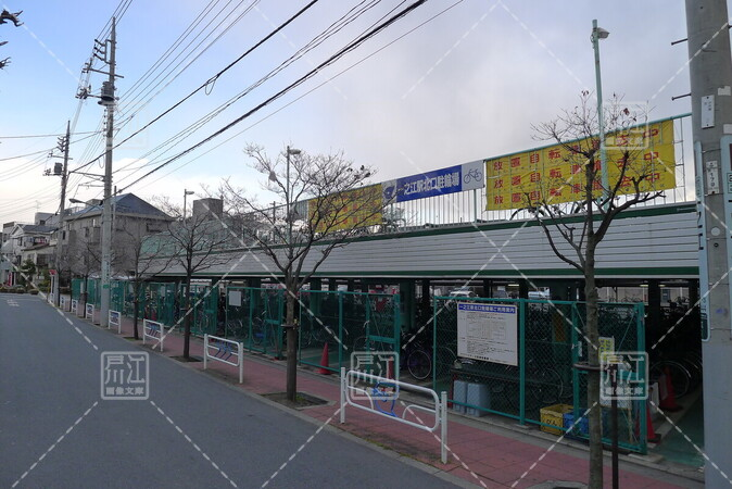 一之江駅北口駐輪場
