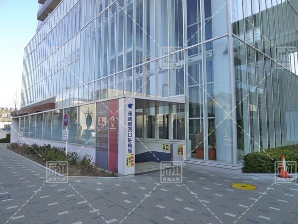 篠崎駅西口駐輪場