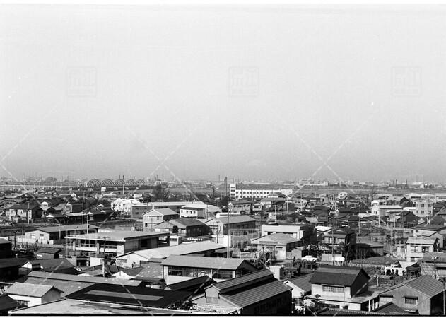 江戸川区役所庁舎屋上からの遠景