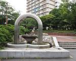 水の舞台(噴水アーチ)