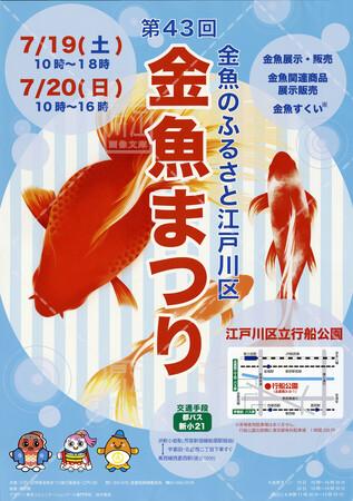第43回金魚まつり【2014年7月19日~20日】