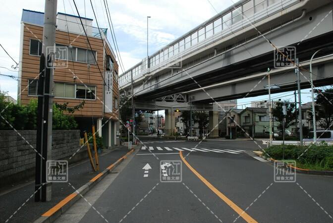 首都高速七号線小松川出入り口付近